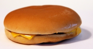 McDonald's cheeseburger-like menu offering is the bloggers favorite since it can be eaten with one hand and is virtually guaranteed not to shed so much as a sliver of onion.