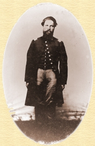 Lt. William Harkness, Company H, 89th Illinois Volunteer Infantry Regiment. (Little White School Museum collection)