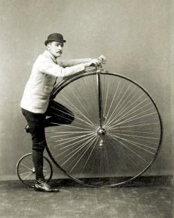 Wheelman and his wheel