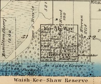 1870 Oswego Twp woodlots