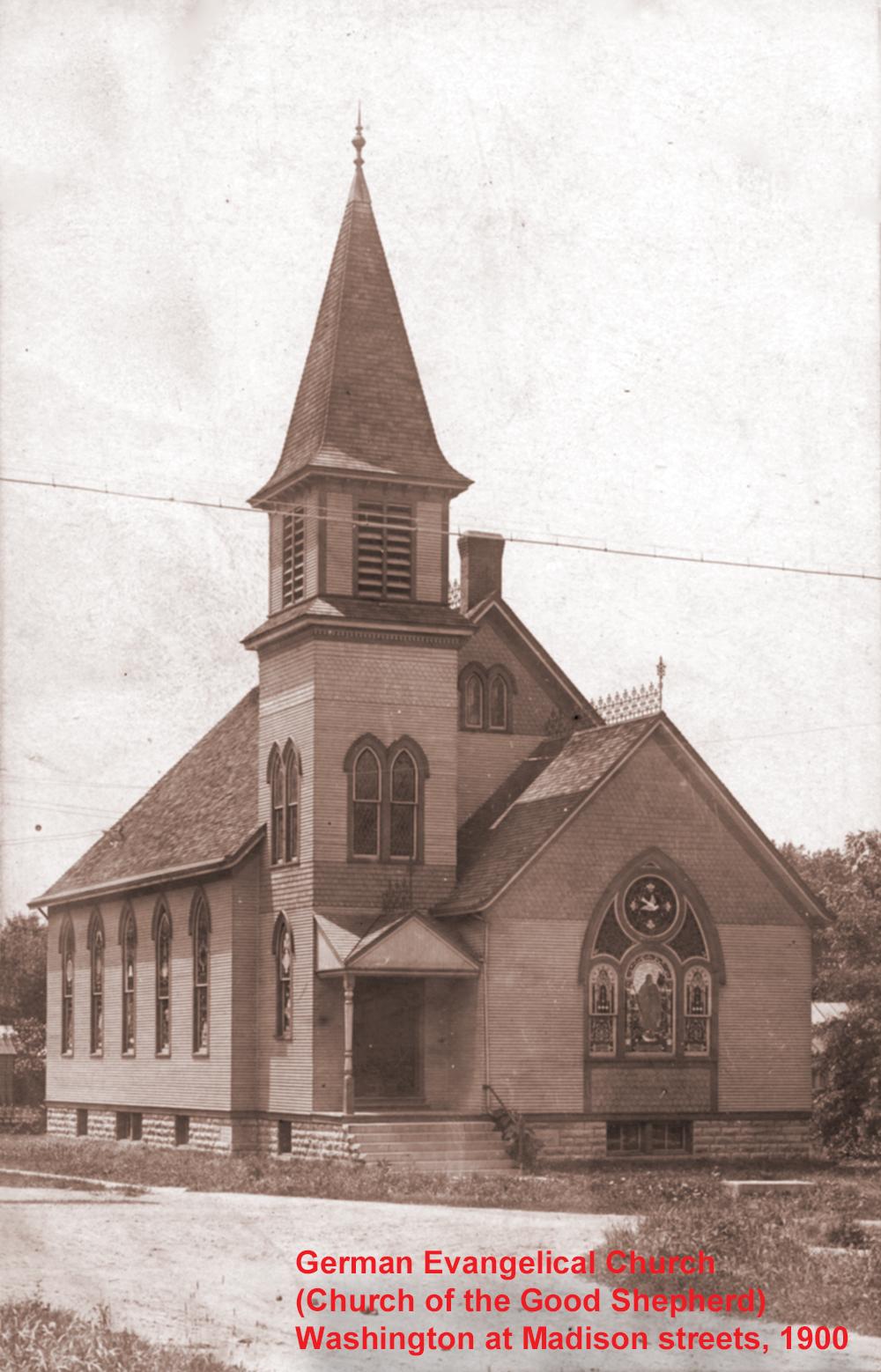 1900 abt German Evangelical Church