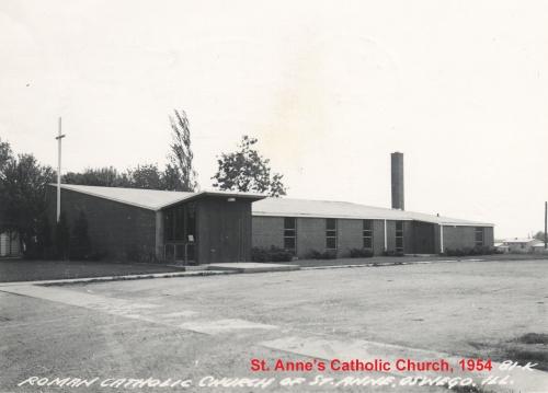 1954 St. Anne's Catholic Church